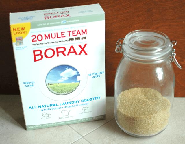 borax y azucar