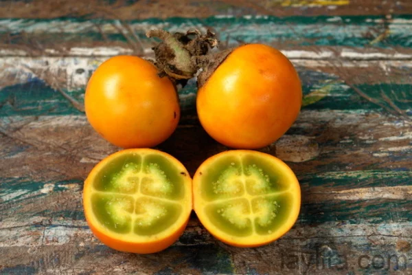 frutas naranjillas