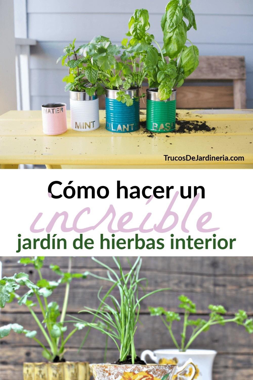 Cómo Hacer un Jardín de Hierbas en Interiores